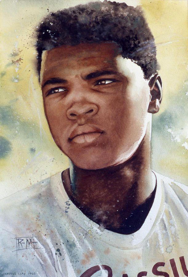 Cassius Clay , le plus grand boxeur de tous les temps