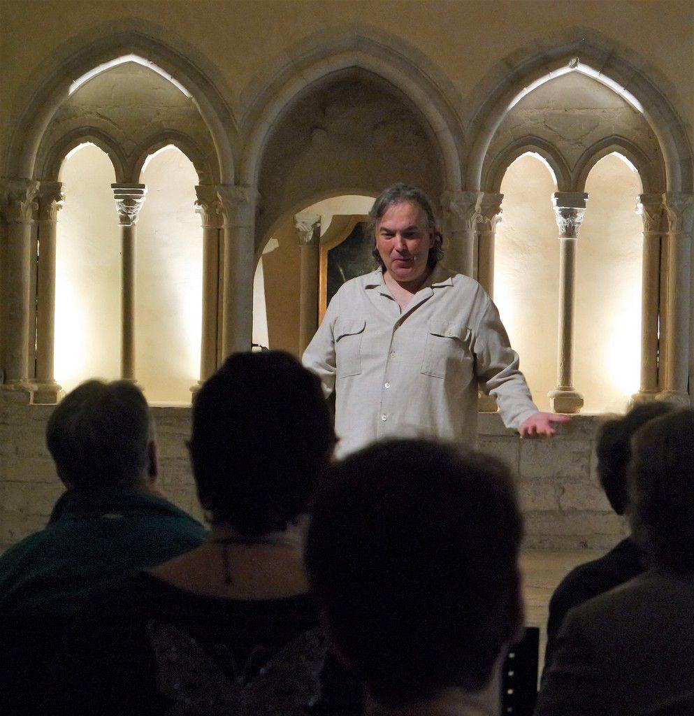 """Racontée """"le moine endormi et ce qui s'ensuivit"""" par Pascal Salzard le 18 octobre au musée saint-Remi"""