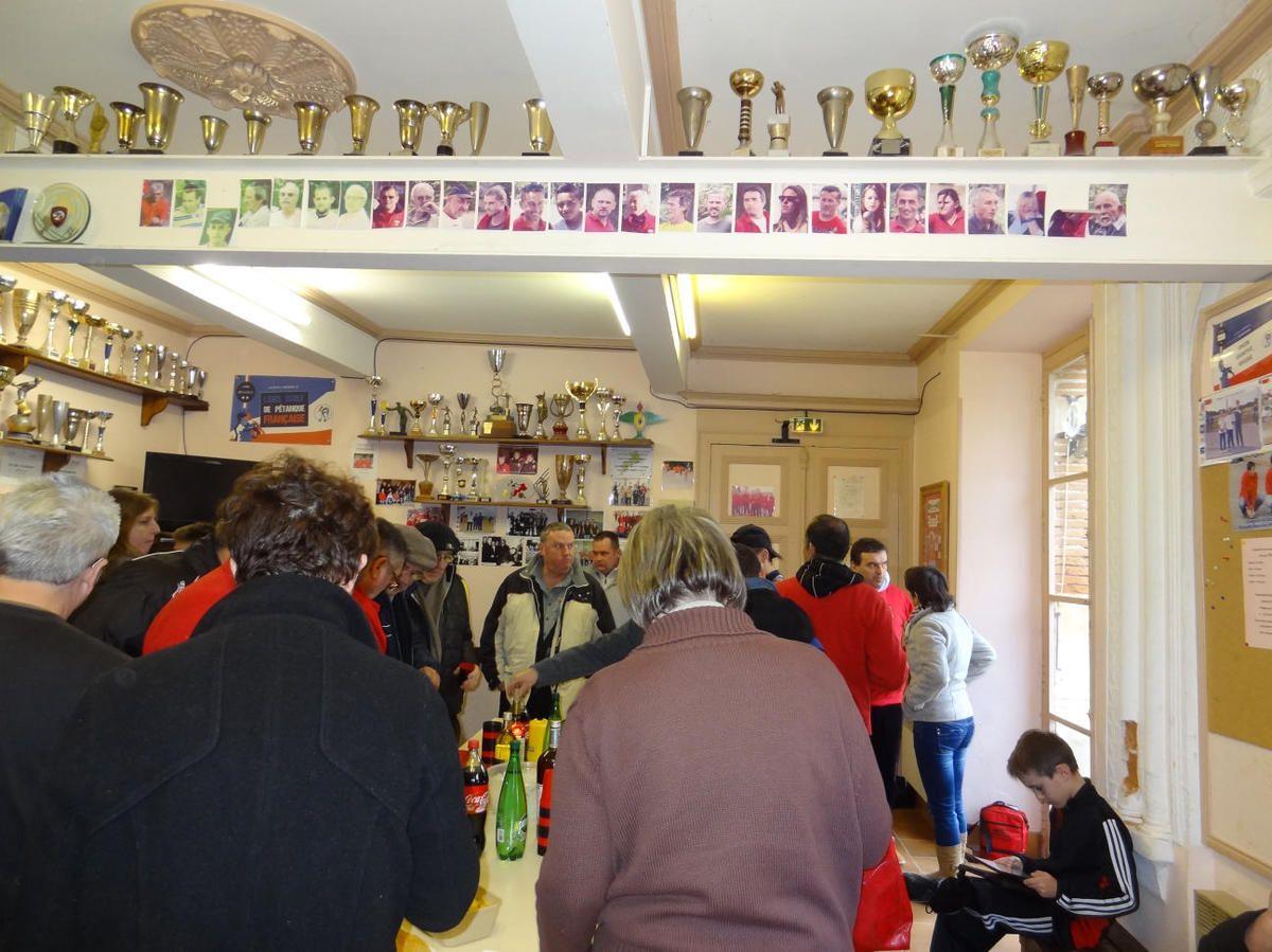 Rieux-Volvestre (31) - Les voeux à l'U.S.R. Pétanque