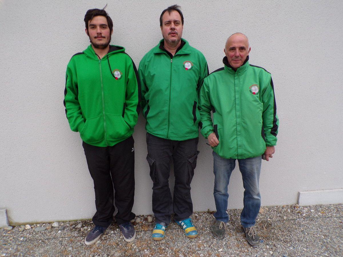 Championnat de l'Ariège Triplette Provençal