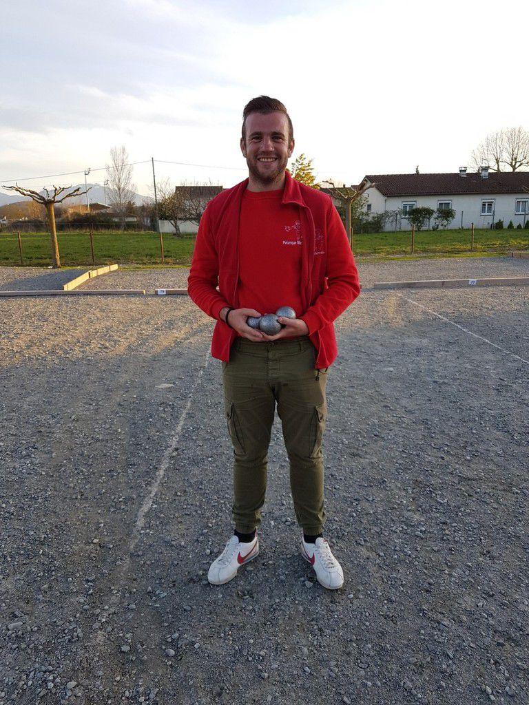 Un martrais qualifié au championnat Haute-Garonne