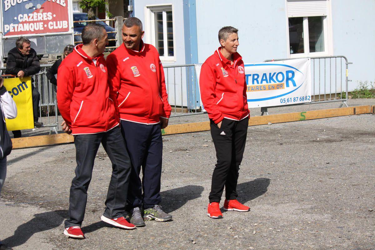 Cazères: Coupe de France, Ligue et Haute-Garonne