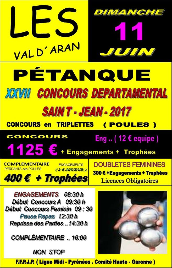 Les Espagne - Concours de la Saint-Jean