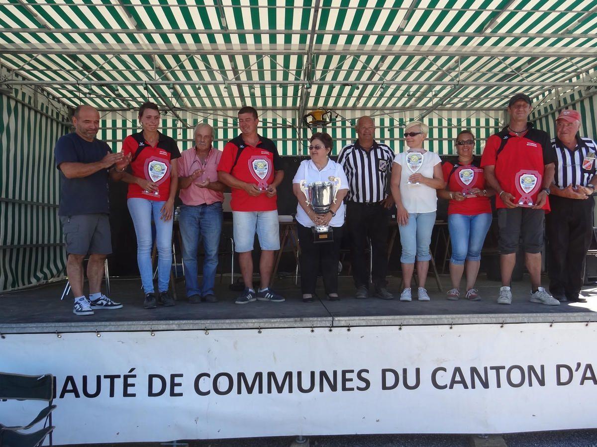Miramont de Comminges - Championnat Haute-Garonne Doublettes Mixtes