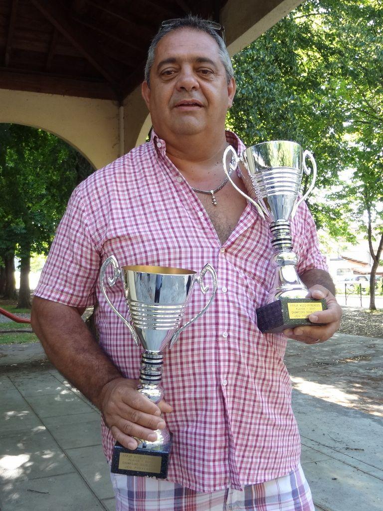 Championnat de France Doublettes Provençal: Thierry Gourdoux et Cyril Saux au France à Palavas