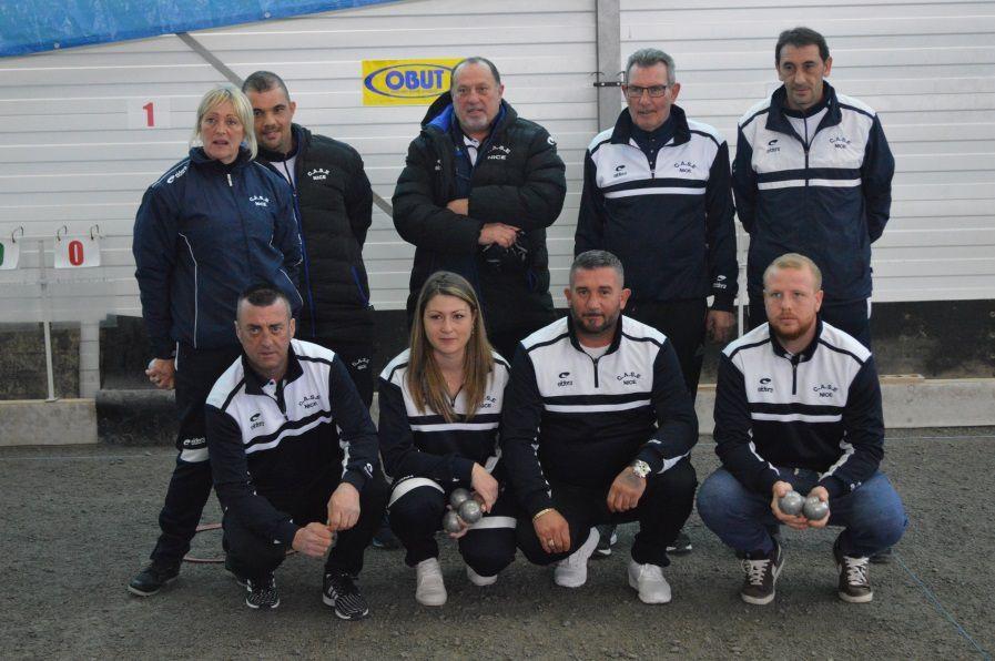 L'équipe Niçoise qualifiée pour le « Grand huit »