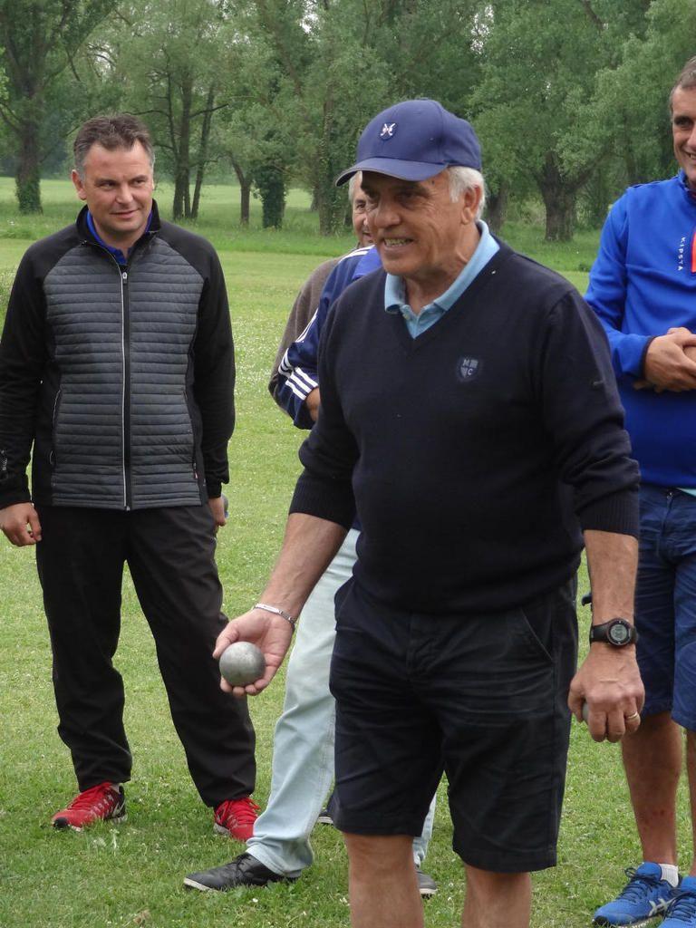 Petank'golf à Montauban avec Christian Lagarde