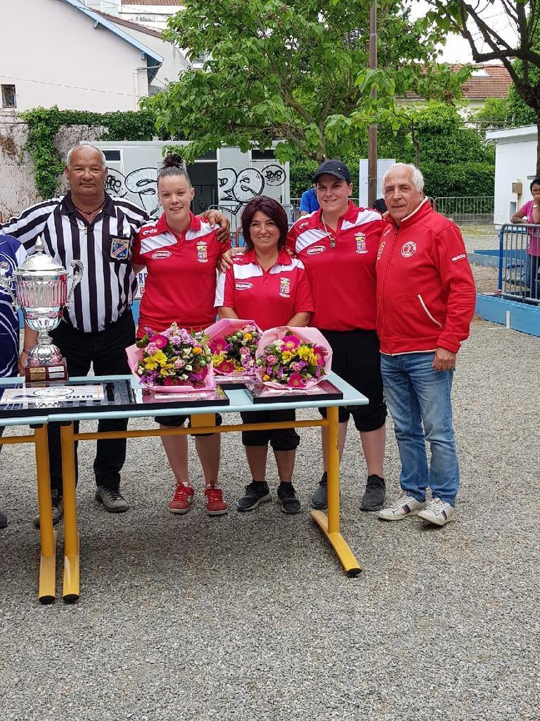 CAZERES-  Quatre titres de champions (nes) pour le Cazères Pétanque Club