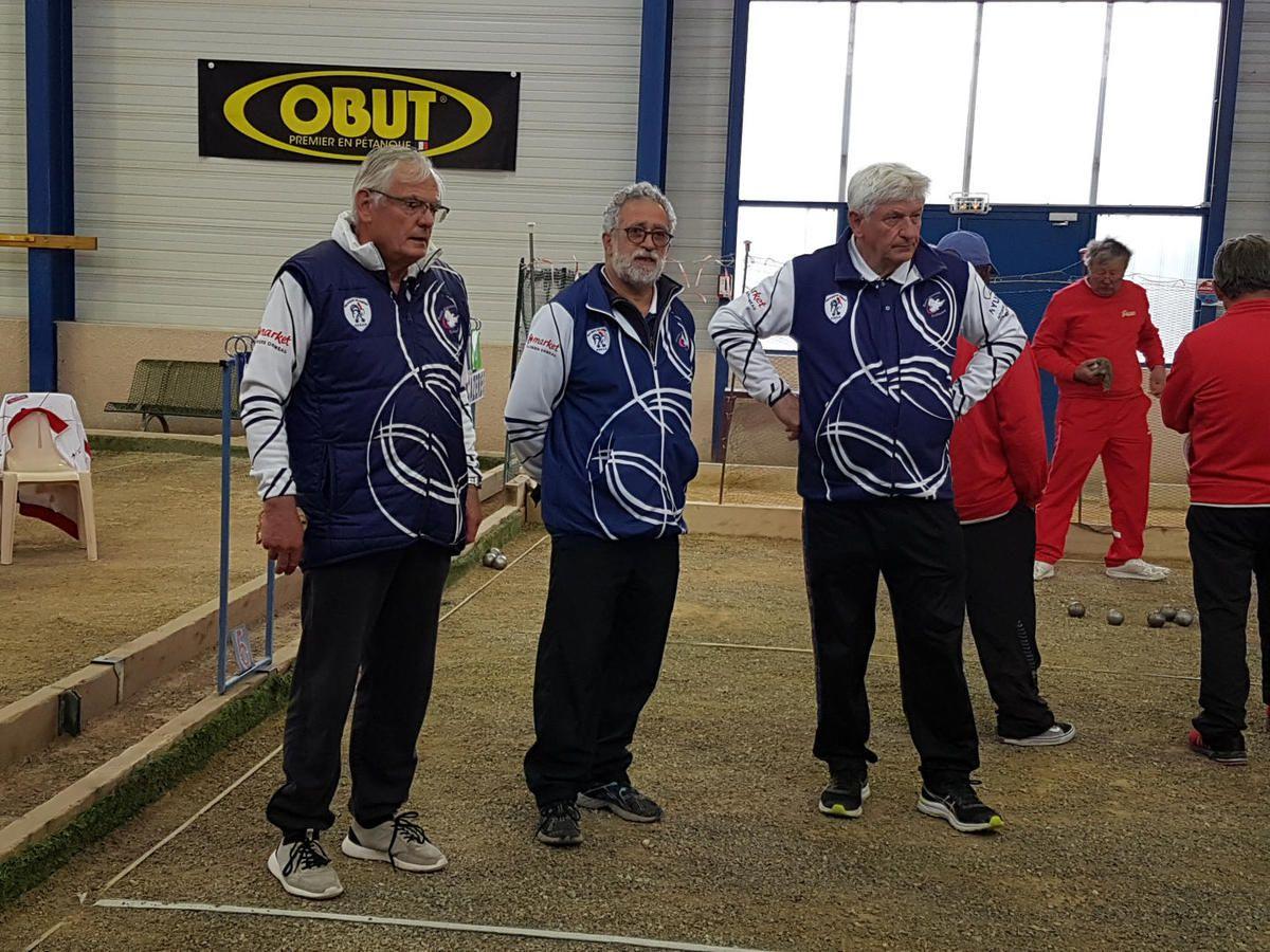 Saint-Gaudens - Championnat Haute-Garonne Vétérans les 1/4 de finale