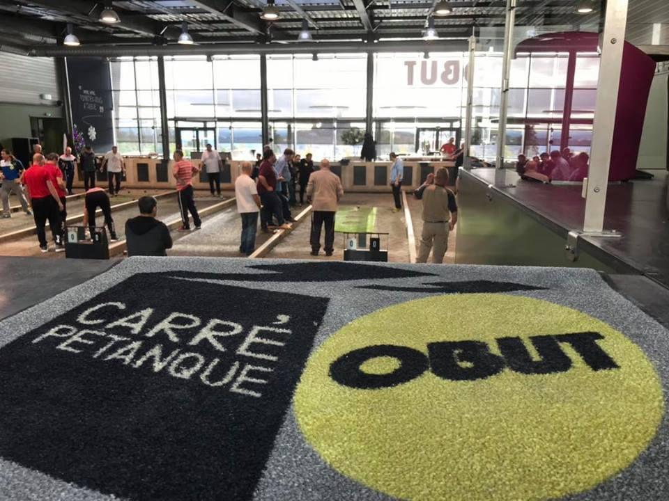 Stage  Angélique Papon-Colombet Le 14 mai 2019 . • Carré Pétanque Obut