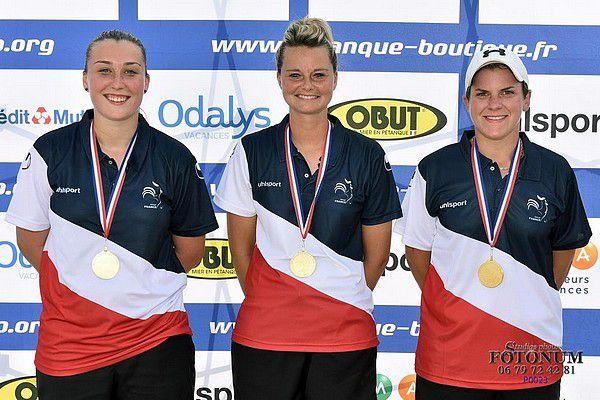 Les cazériennes championnes de France à Saverdun