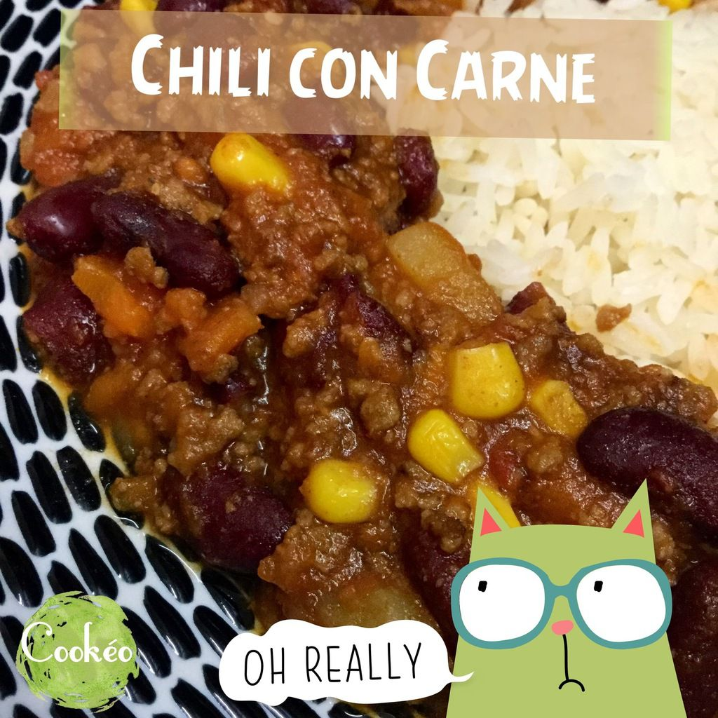 CHILI CON CARNE AU COOKEO