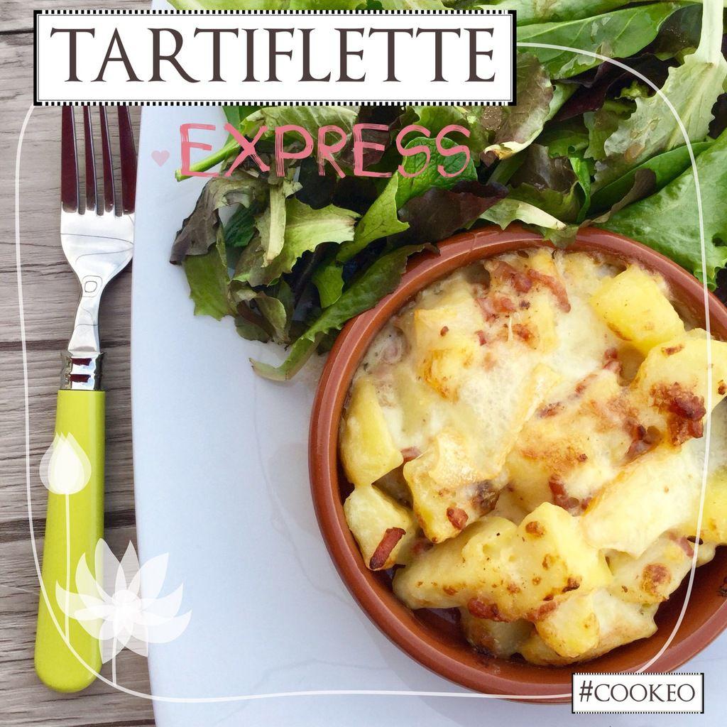 TARTIFLETTE EXPRESS #Cookeo