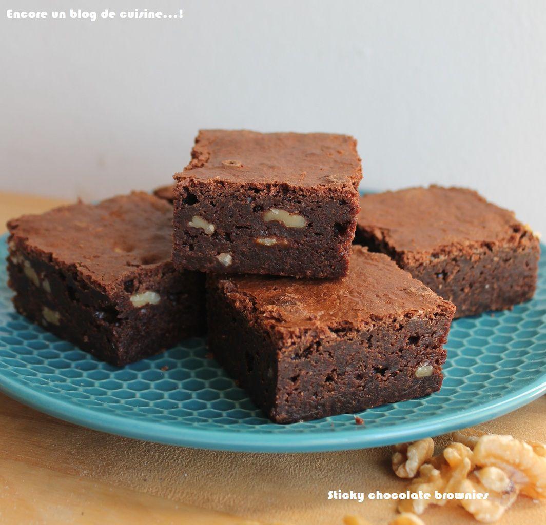 Sticky Chocolate Brownies #102