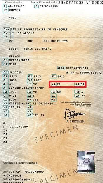 importation et immatriculation d u2019une voiture en france