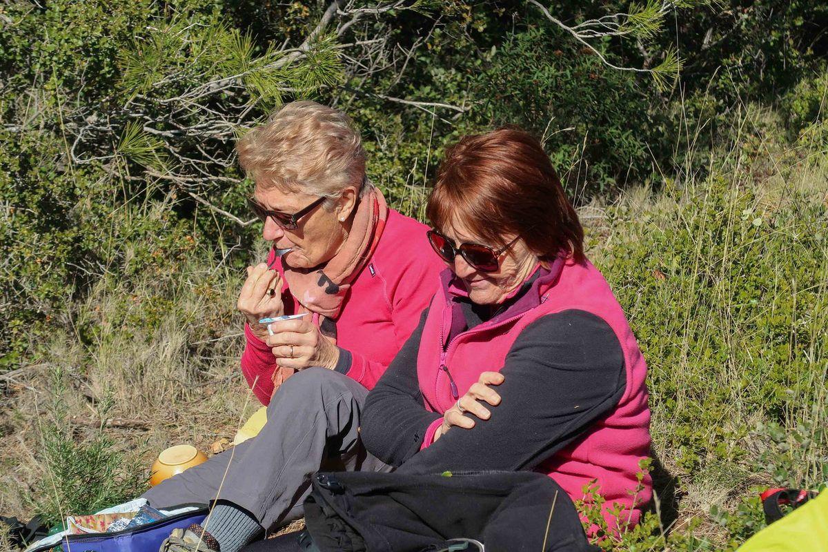 Merci à Jean-Louis pour cette rando et à Agnès pour avoir pris le soin d'emballer sa confiture dans des crêpes !