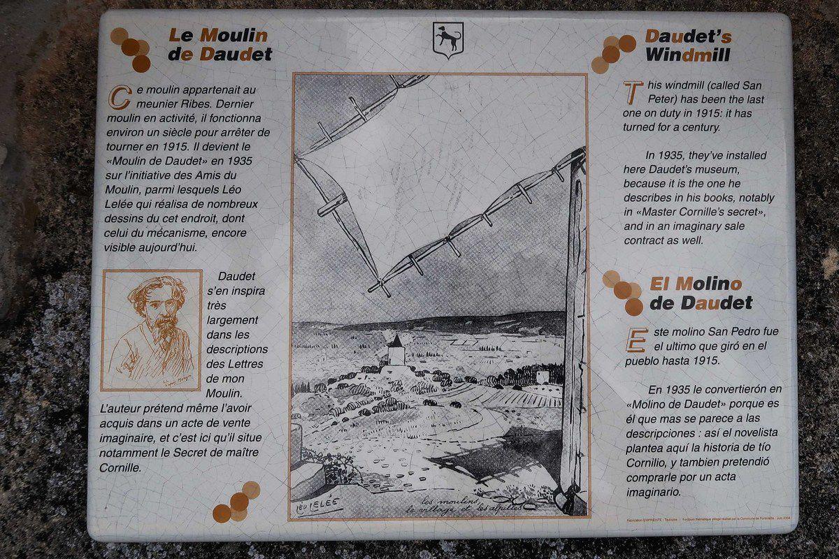 Visite et randonnée agréables sous le beau soleil habituel de notre Provence , ...