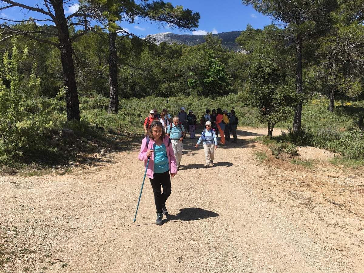 Une superbe randonnée, beau temps, bonne humeur, belle journée. Merci Martine , Richard et Cie...