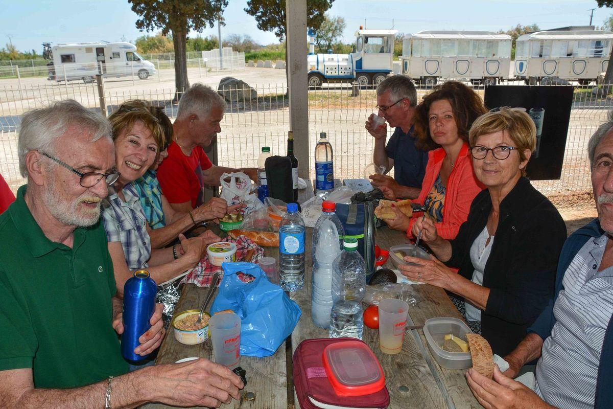 Après la visite guidée par Daniel et le repas , visite des Salins