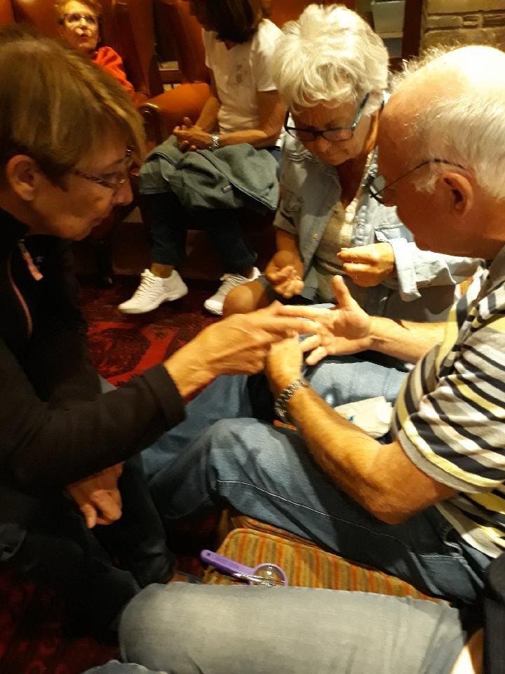 Dimanche, opération de Jean-Paul....il a encore ses dix doigts !!!