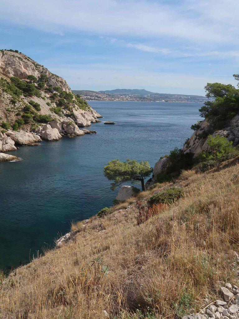 Belle rando , un peu ventée , mais avec de beaux points de vue sur la rade de Marseille