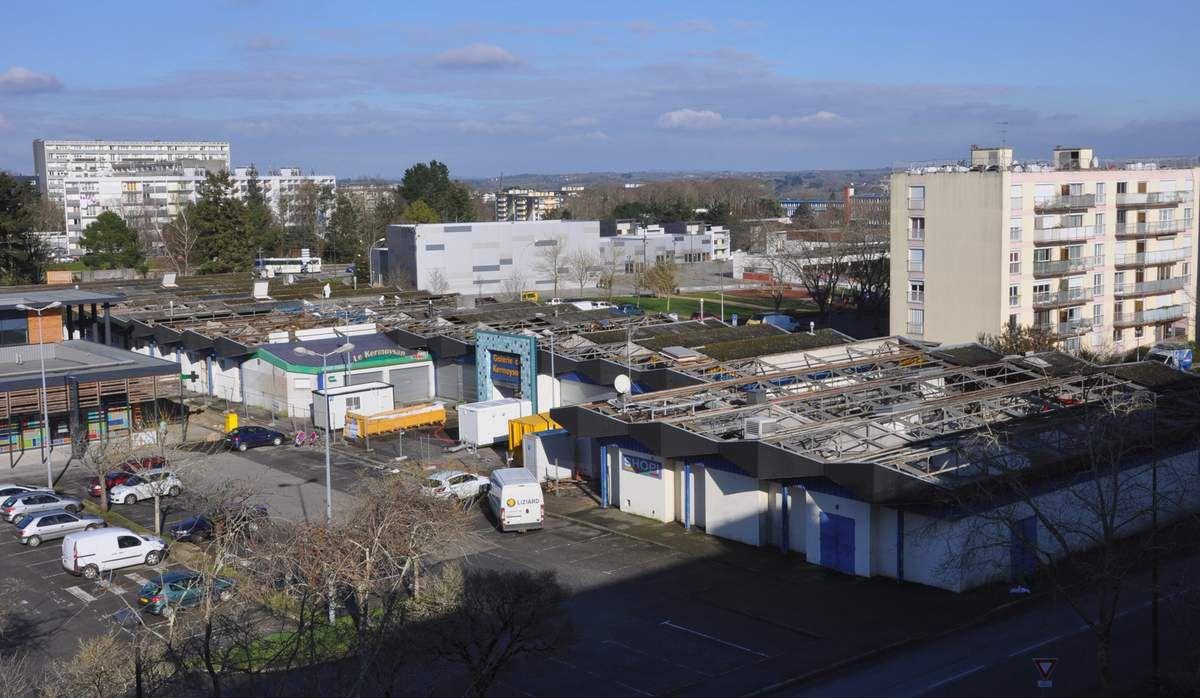 Kermoysan : imaginez ce que sera le centre du quartier