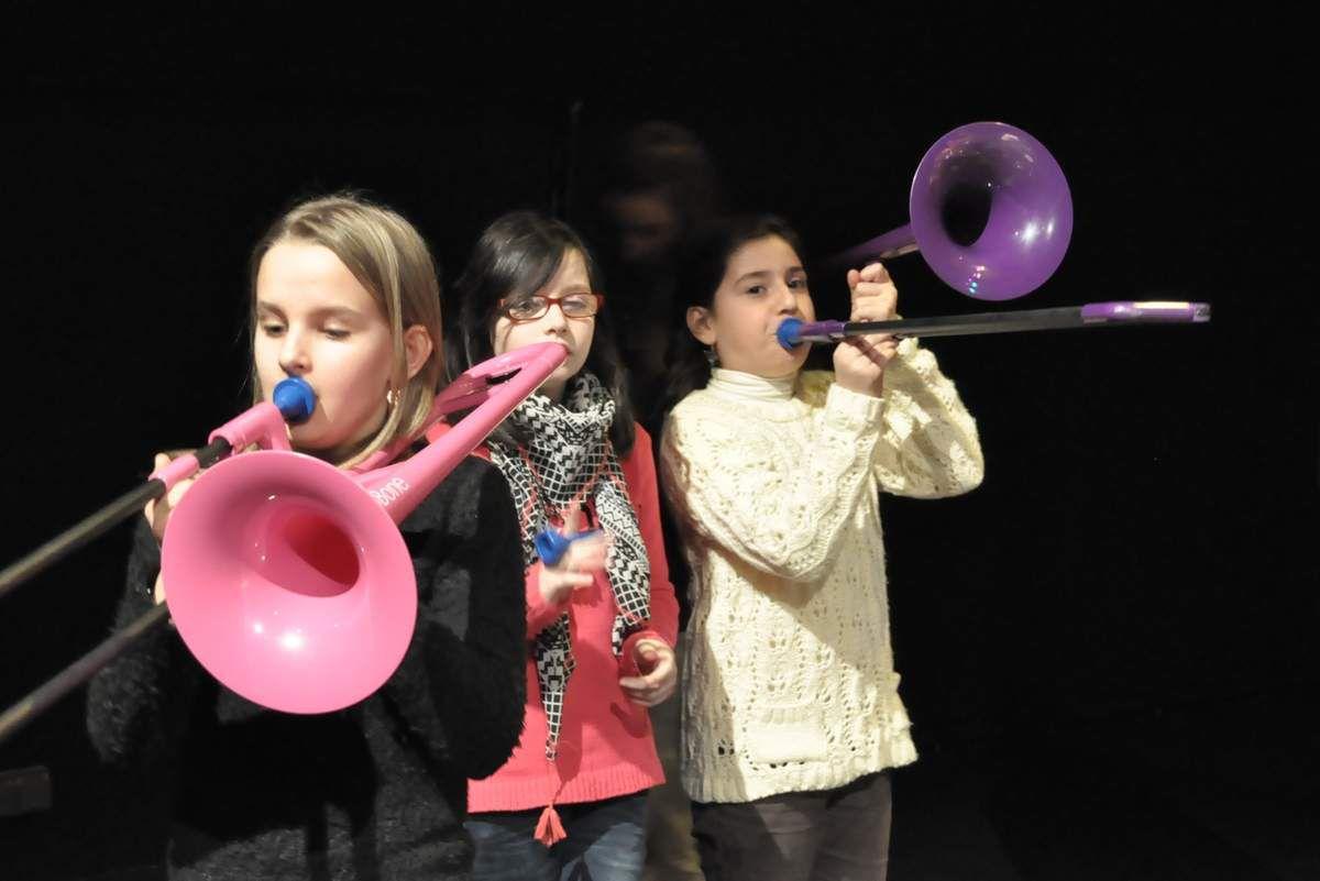 Découverte du trombone, samedi