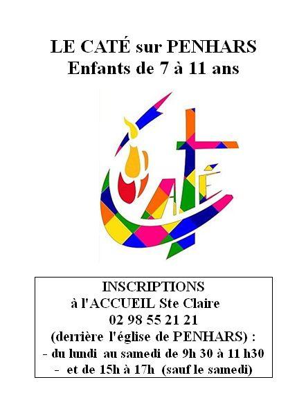 Inscriptions au caté à Penhars