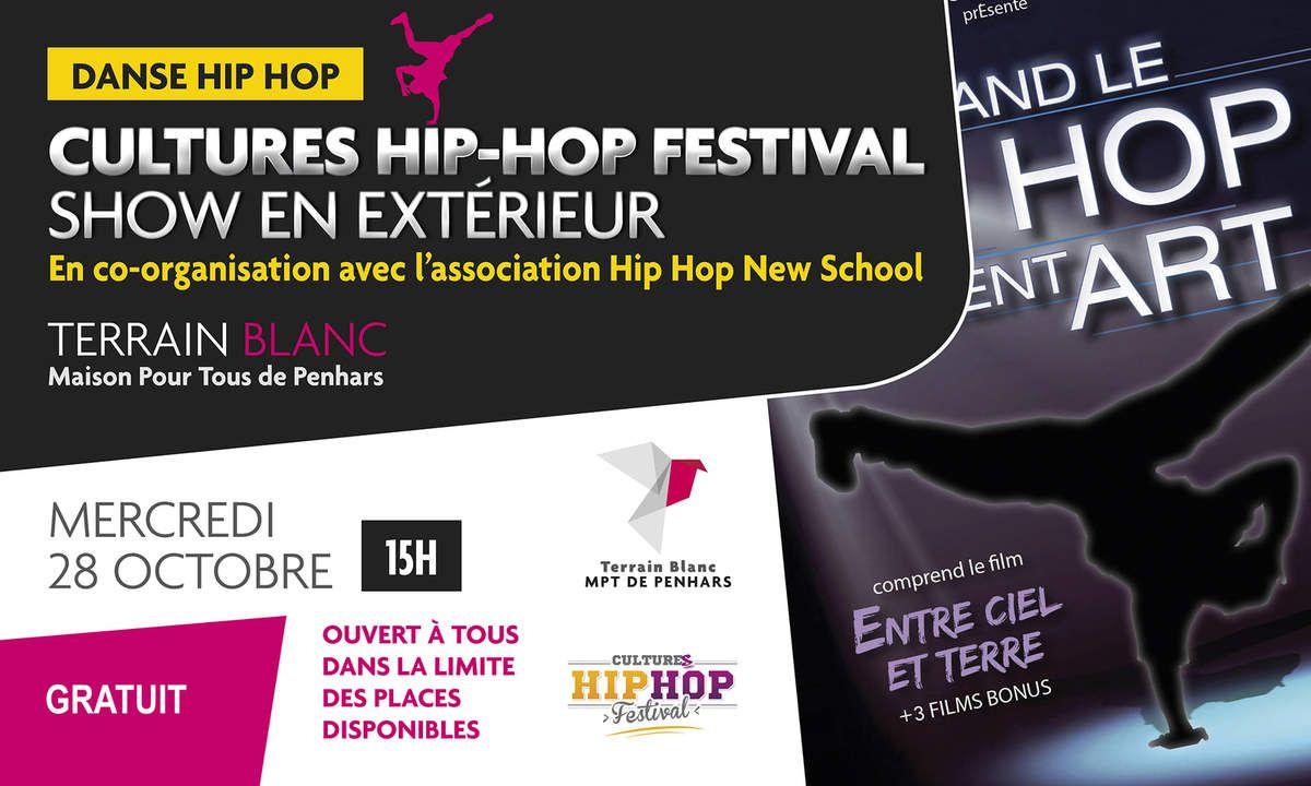 Le mercredi 28 octobre : hip hop au Terrain Blanc