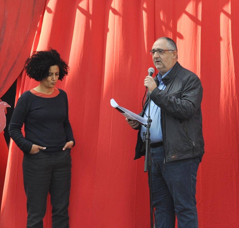 Fatiha Tarib directrice et Loïc Philippon président de la MPT de Penhars
