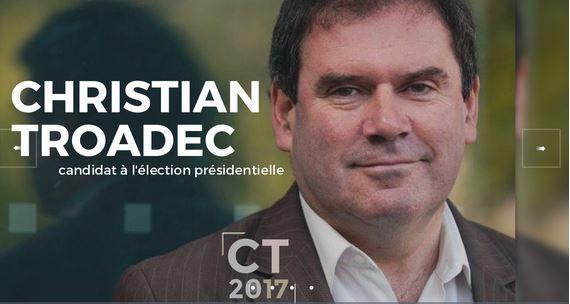 Présidentielle 2017 : l'Union Démocratique Bretonne soutient la candidature de Christian Troadec