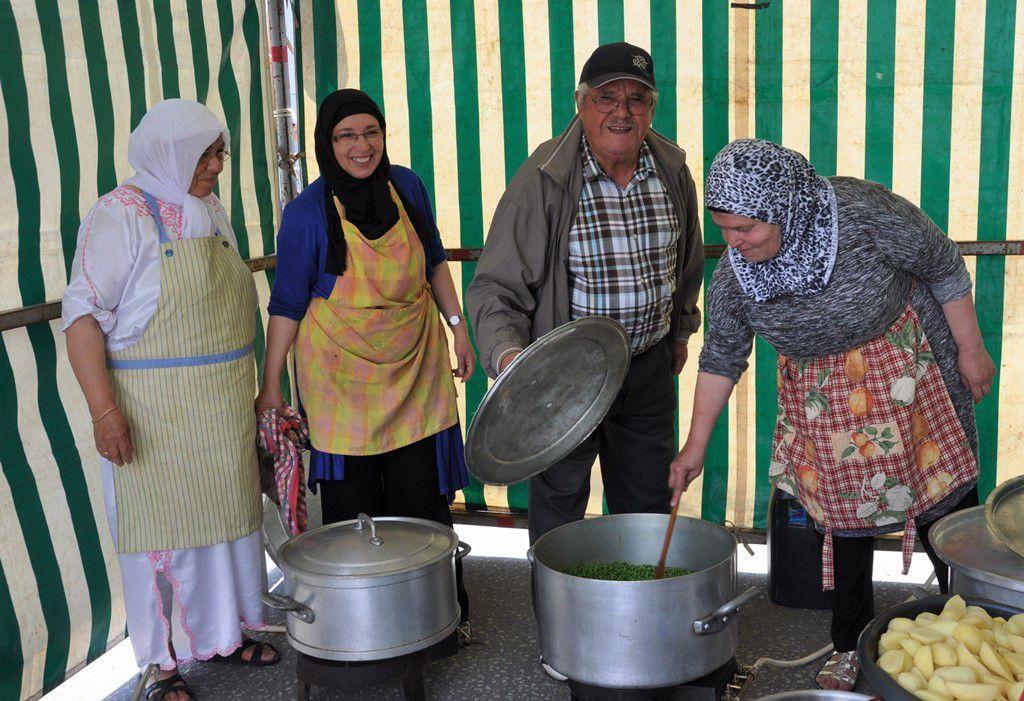 Yamina, Drifa, Hamed et Fatima