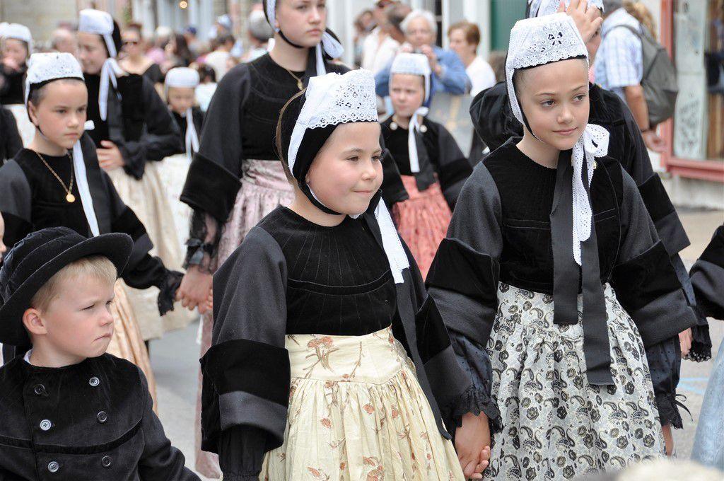 Enfants du cercle de Pont-l'Abbé