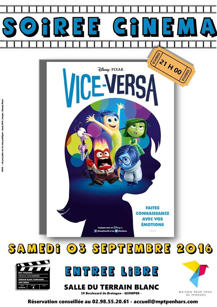 Cinéma le 3 septembre au Terrain Blanc