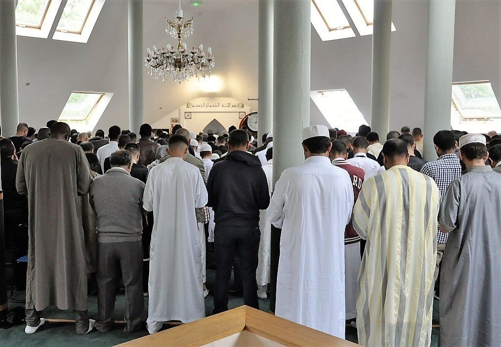 La célébration de l'Aïd el Kebir aujourd'hui à la mosquée de Penhars