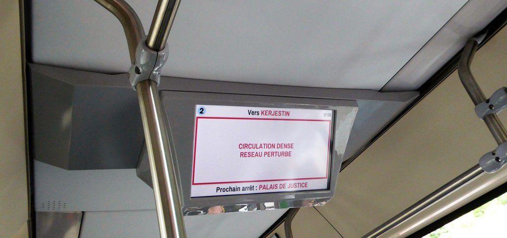 1,30 € le bus toute la journée à Quimper pour la semaine de la mobilité