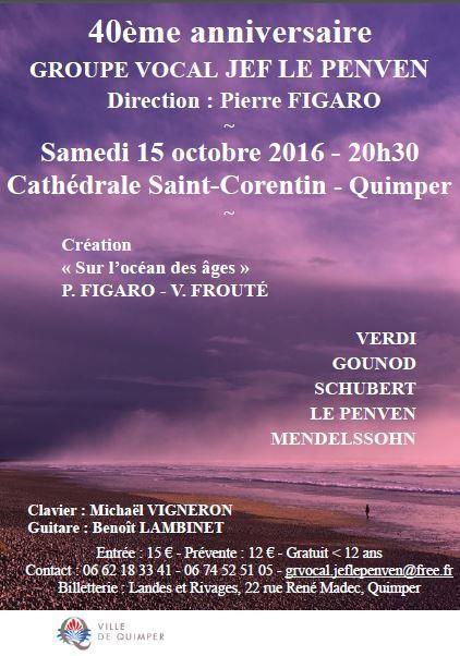 Concert samedi à la cathédrale Saint-Corentin