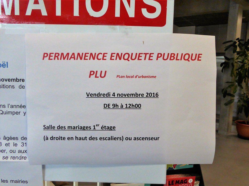 PLU et AVAP : l'enquête publique se termine vendredi 4 novembre