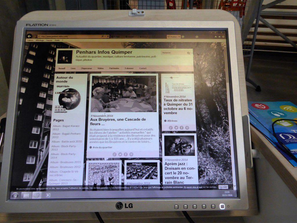 Un ordinateur sans couleurs ... sepia possible !