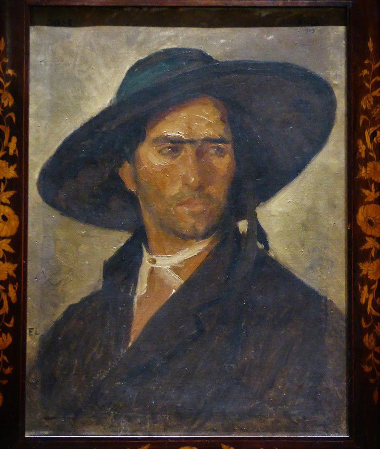 Charles-Frédéric Lauth (Paris 1865-1922). Portrait de José, berger à Avila (Tous droits réservés)