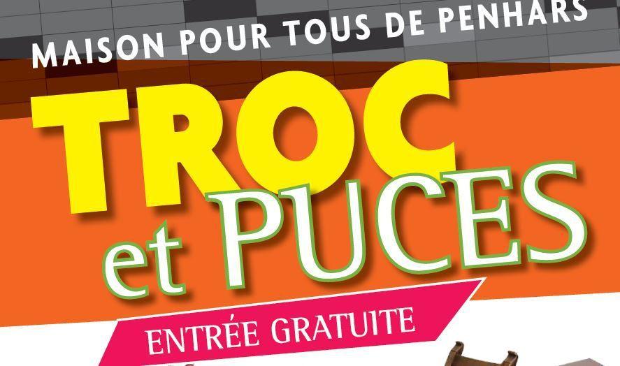 Communiqué pour ceux qui veulent exposer au Troc et Puces du 9 avril de la MPT de Penhars