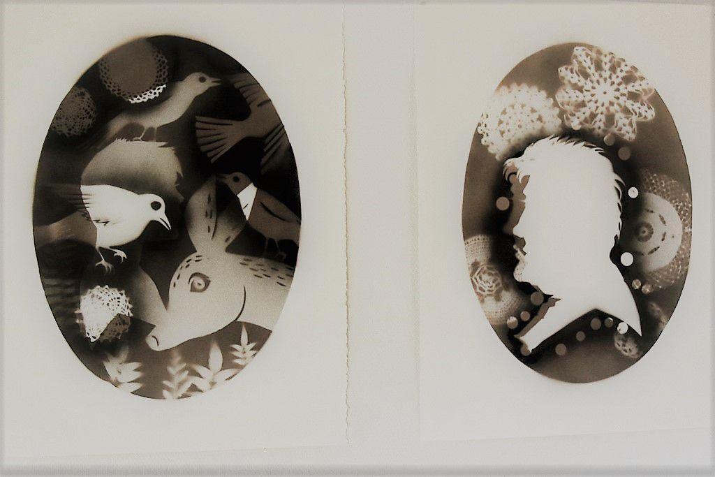 """"""" Conversations """" , une exposition de Sylvie Le Gac à l'institut Kelenn"""