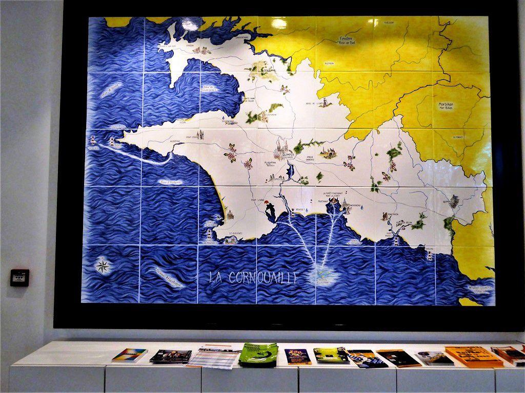 Pour l'office de tourisme de Quimper, Carhaix n'est pas en Cornouaille ...