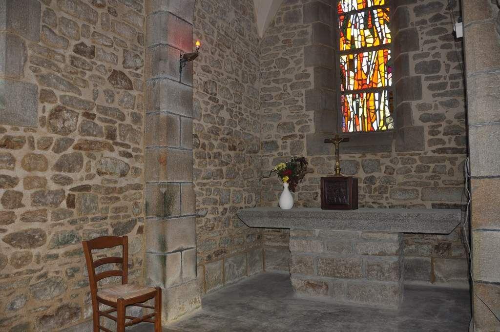 La chapelle latérale côté est