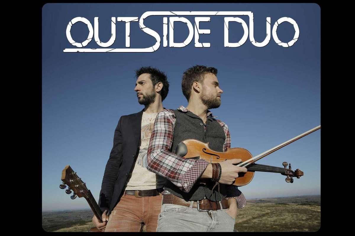 Annonce de concert Pont-l'Abbé : Outside Duo (communiqué)