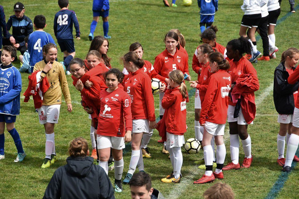 Très beau tournoi de foot U 11 et U 13 du FCQP à Kervahut