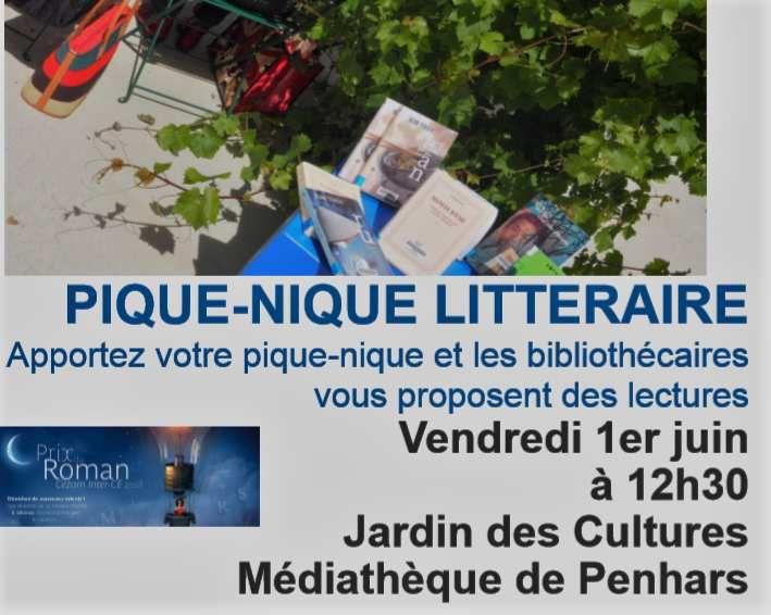 Pique-nique littéraire à Penhars : au menu du 1er juin, les romans en lice pour le prix du Roman CEZAM.
