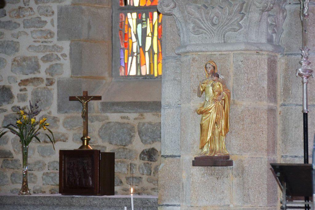 Une dévotion naissante à la Vierge dorée de Penhars
