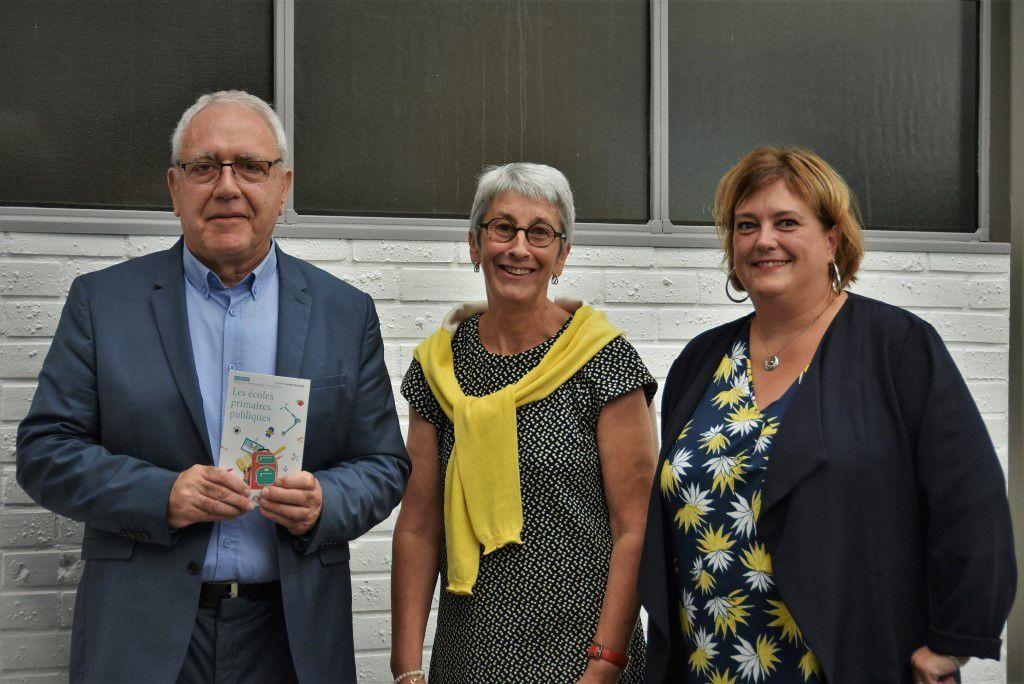 Jean-Pierre Doucen, Anne-Marie Stenou, Sylvie Le Gouahler-Bihan