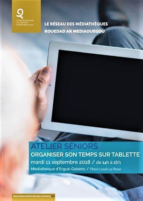 Atelier seniors / numérique à Ergué-Gabéric